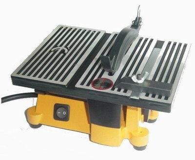 4 Mini Electric Table Saw With 2 Blades Ebay