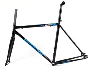 EIGHTHINCH SCRAMBLER TRACK FIXED GEAR FRAME 51CM BLACK FIXIE FRAMESET