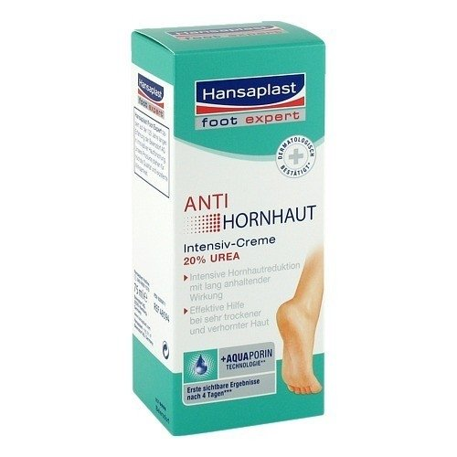 HANSAPLAST Foot Expert Anti-Hornhaut Intensiv-Cre. 75 ml Creme