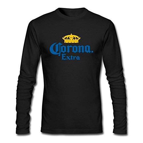 juxing-mens-corona-beer-logo-long-sleeve-t-shirt-xl-colorname