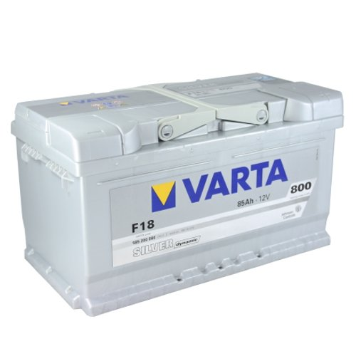 varta f18 silver dynamic autobatterie batterie 85 ah. Black Bedroom Furniture Sets. Home Design Ideas
