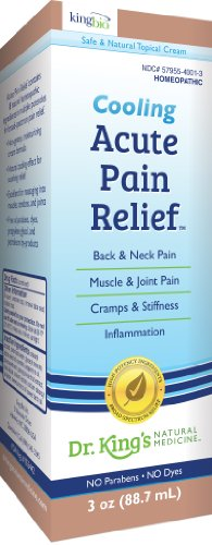 Dr. King'S Natural Medicine Acute Pain Relief Topical Cream, 3 Ounce