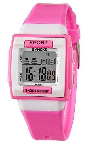 orologi-bambini-elettronica-orologi-impermeabili-rosa