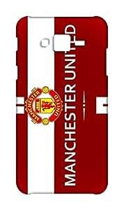Samsung Galaxy J2 2015 Manchester United Football Club Design Back Cover - Printed Designer Cover - Hard Case - SGJ2CMBMUFC0161