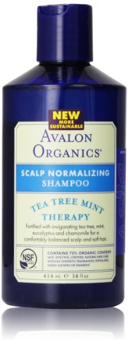 Avalon Organic Botanicals Shampoo, Tea Tree Mint, 14 Fl Oz