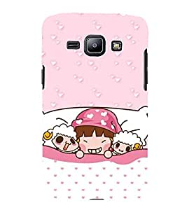 Cute Cartoons 3D Hard Polycarbonate Designer Back Case Cover for Samsung Galaxy J1 2016 :: Samsung Galaxy J1 2016 Duos :: Samsung Galaxy J1 2016 J120F :: Samsung Galaxy Express 3 J120A :: Samsung Galaxy J1 2016 J120H J120M J120M J120T