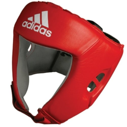 Adidas Boxing Head Guard 'AIBA' Licensed CE - Red - Large