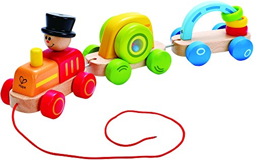 Hape Early Explorer -Triple Play Train Toy - 1