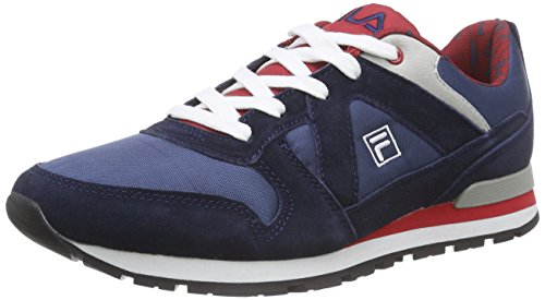 FilaArlington Low - Scarpe da Ginnastica Basse Uomo , Blu (Blu (Dress Blues)), 40