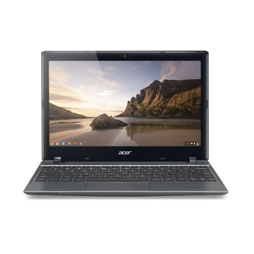 Acer Aspire C710-2487 11.6-Inch Chromebook (1.1 GHz Intel Celeron 847 Processor, 4GB DDR3, 320GB HDD, Chrome OS) Iron Gray