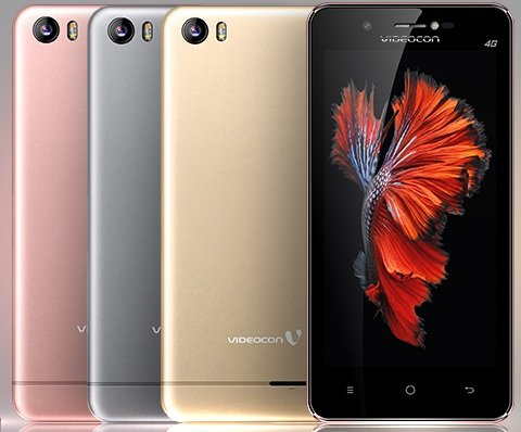 Videocon Graphite 1 V45ED 4G Volte Smart Phone