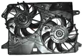 TYC 621160 Chrysler/Dodge Replacement Radiator/Condenser Cooling Fan Assembly by TYC