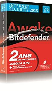 Bitdefender Internet Security 2013 (3 postes, 2 ans)
