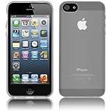Coque Ultra Fine pour Apple iPhone 5 / 5s - Collection Transparent - Blanc - par PrimaCase
