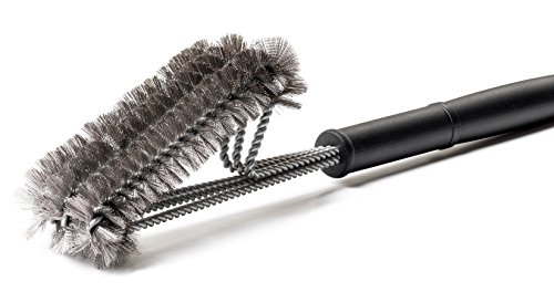 Snillingur bbq grill brush for gas grills ″ long