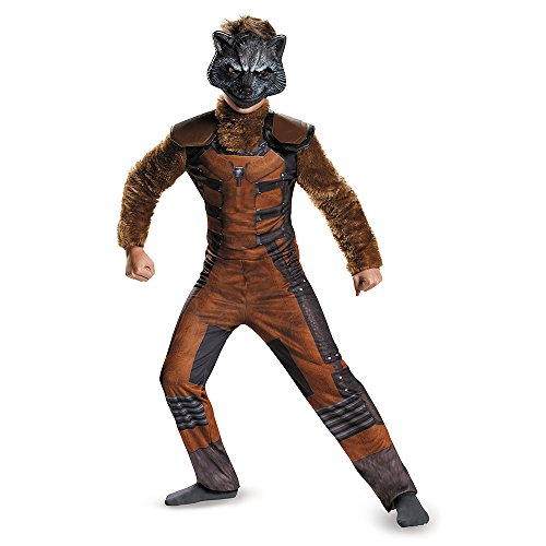 Disguise Marvel Guardians of The Galaxy Rocket Raccoon Deluxe Boys Costume