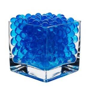 8oz -Almost 15,000 Jelly BeadZ® Water Bead Gel - BLUE- Heat Sealed Bag- Water Pearls Gel Beads- Wedding & Event Centerpieces (Jelly Beadz Blue compare prices)