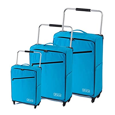 "Turquoise ZFrame Super Lightweight Suitcase Set 18"", 22"", 26"" 3rd from ZFrame"