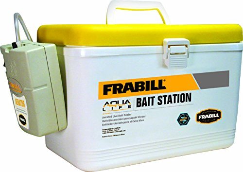 Frabill Ice MIN-O-LIFE Personal Bait Station, 8-Quart (Frabill Cooler compare prices)