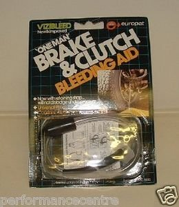 "VIZIBLEED ""ONE MAN"" BRAKE & CLUTCH BLEEDING AID - The Ideal Tool to Simply Bleed Brake System"