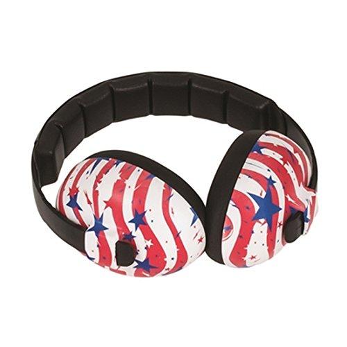 Cheap Baby Banz Baby Hearing Protection Earmuffs, USA Print, 0-2 YEARS