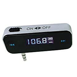 Enem Wireless FM Transmitter With Built In Battery