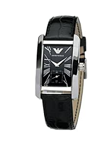 Armani Men's Leather Collection watch #AR0144: Emporio Armani: Watches