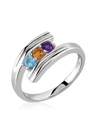Divas Diamond Anello Multi Colour Ring