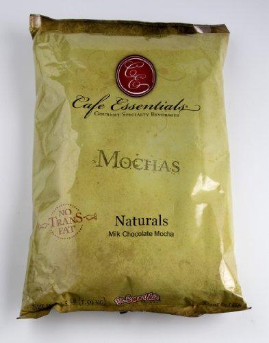 Cafe Essentials Naturals Milk Chocolate Mocha Beverage Mix, 3.5-Pound Bag