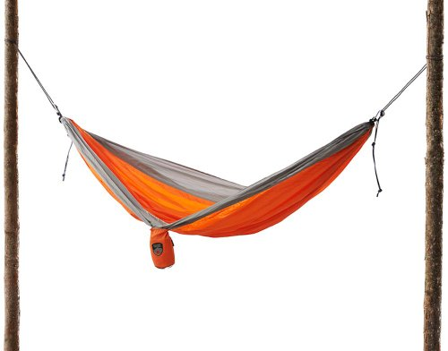 Grand Trunk Double Parachute Nylon Hammock With Free Rope Hang Kit front-321701