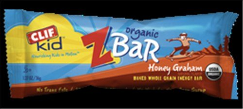 Clif Bar Kid Z-Bar Organic Honey Graham 18 Bars