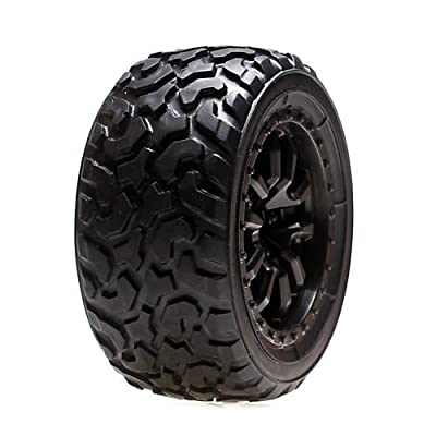 Vaterra 41001 FR/RR Desert Spec Tire Mounted (2): Kalahari