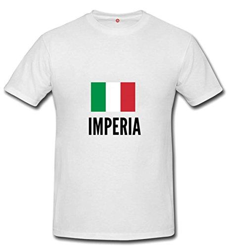 T-shirt Imperia city white