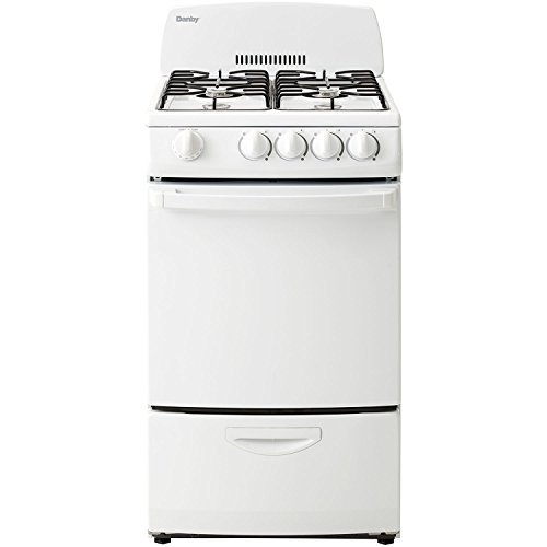 apartment size range danby dr200wglp 20 inch gas range with 4 burners