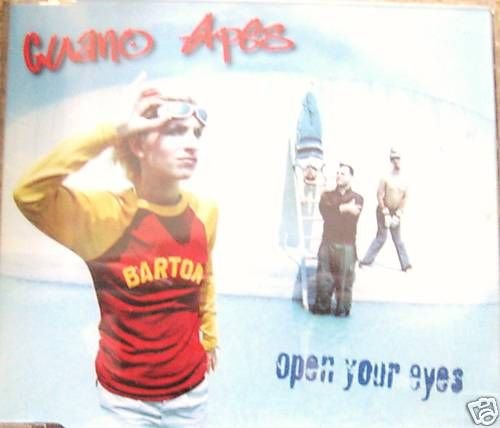 Elpees Entertainments GUANO APES CD- Open Your Eyes,3 track (mint)