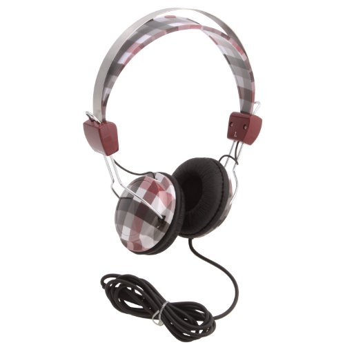 Konoaudio Ka-Roh-104 Headphones - Retro Red Checker