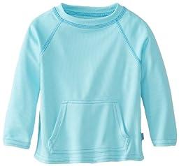 i play. Baby Breatheasy Sun Protection Shirt, Light Aqua, 6-12 Months