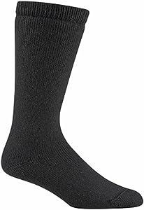 Buy Wigwam 40 Below Wool Crew Outdoor Adult Socks 052 BLACK AL (SET OF 6) by Wigwam