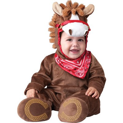 Incharacter Baby Boy'S Playful Pony, Brown, Small,(6-12Months) front-955227