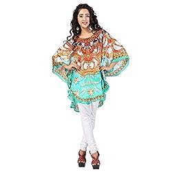 7 Colors Lifestyle Women's Georgette Dress (ABP6023POV3XL_Multi-Coloured)