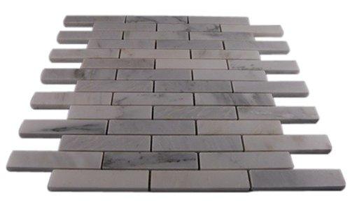 Asian Statuary 3/4 X 4 Big Brick Pattern Marble Mosaic Tiles