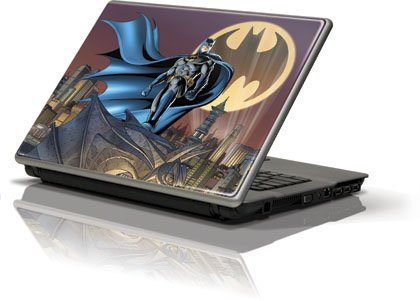 Skinit Batman in the Sky Vinyl Skin for Generic 12in Laptop (10.6in X 8.3in)