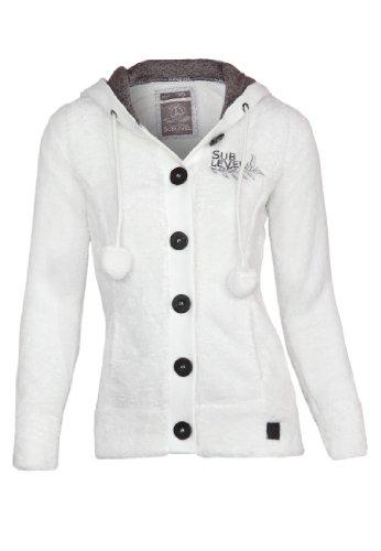 Fresh Made Knitted Jacket, Größe:XL;Farbe:White