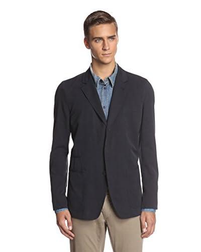 Dolce & Gabbana Men's Blazer with Denim Shirt Detail