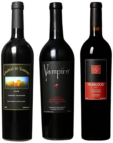 Vampire Vineyards Cabernet Sauvignon Mixed Pack, 3 X 750 Ml