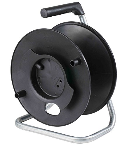 as-Schwabe-12121-Uni-Roller-Kabeltrommel-leer-ohne-Leitung-fr-ca-50m-Kabel