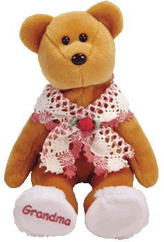TY Beanie Baby - GRAMS the Grandmother Bear (Internet Exclusive) - 1