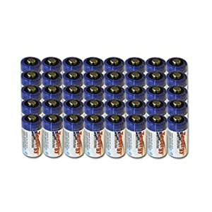 Tenergy 40-pack Propel CR123A Lithium Battery Ptc Protected - 39005