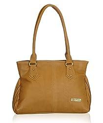 Fantosy Women's Handbag (Beige) (FNB-535)