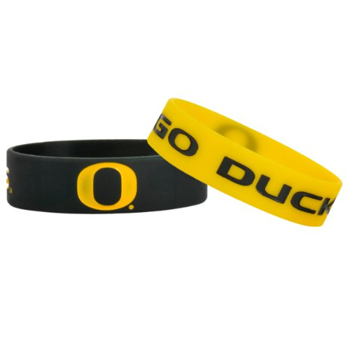 NCAA Oregon Bulky Bandz Bracelet 2-Pack